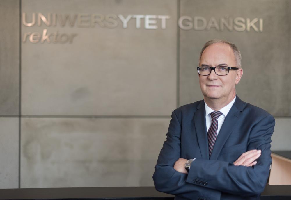 Rektor UG nominowany do tytułu Osobowość Roku 2018