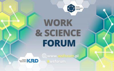 """Targi pracy dla doktorantów """"Work & Science Forum"""""""
